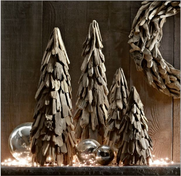 restoration hardware driftwood trees