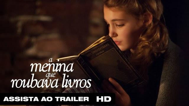 Filme estreia A Menina que roubava livros Markus Zusak