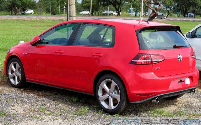 Novo Golf GTI 2014 Vermelho