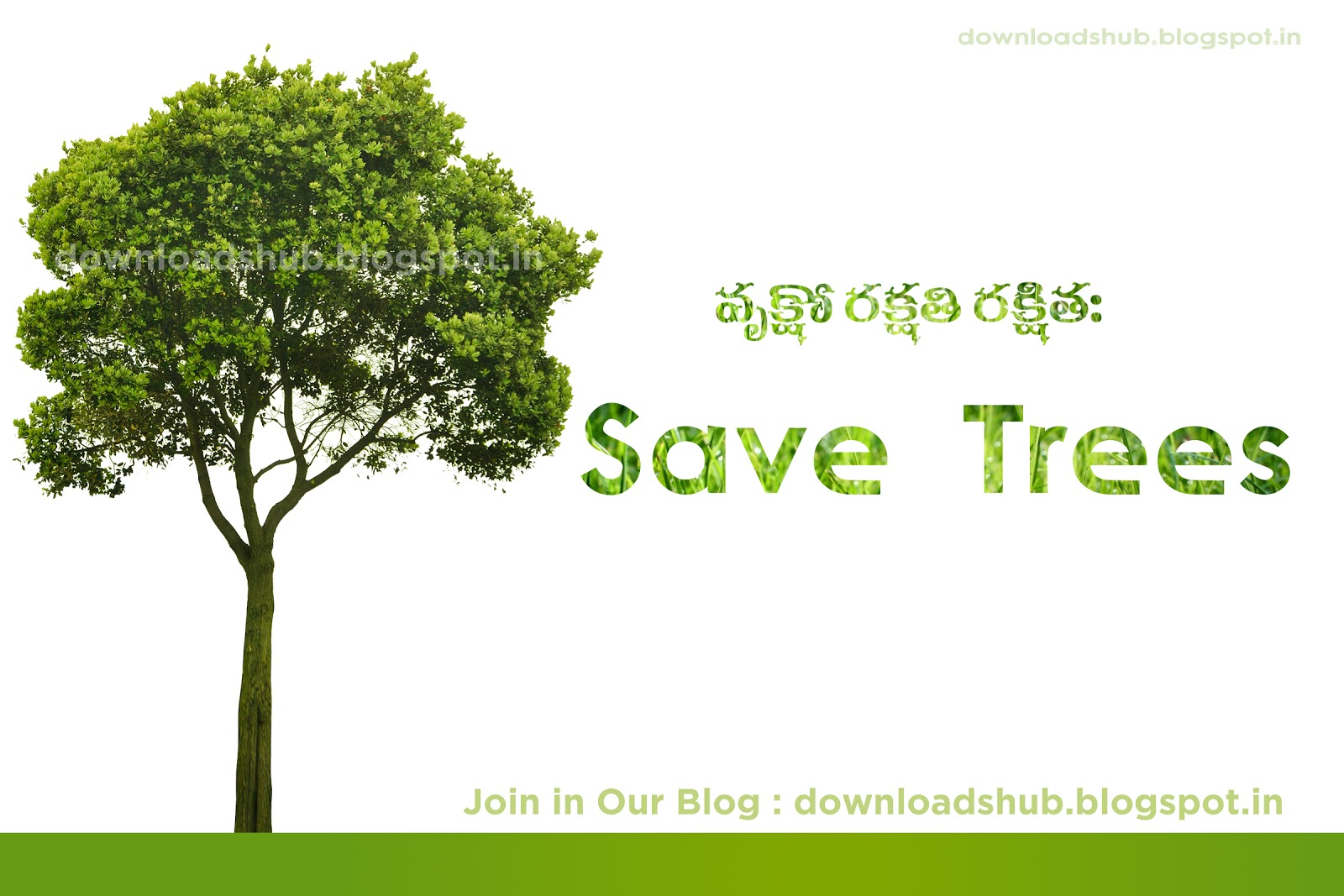 save trees wallpaper 1 - photo #6