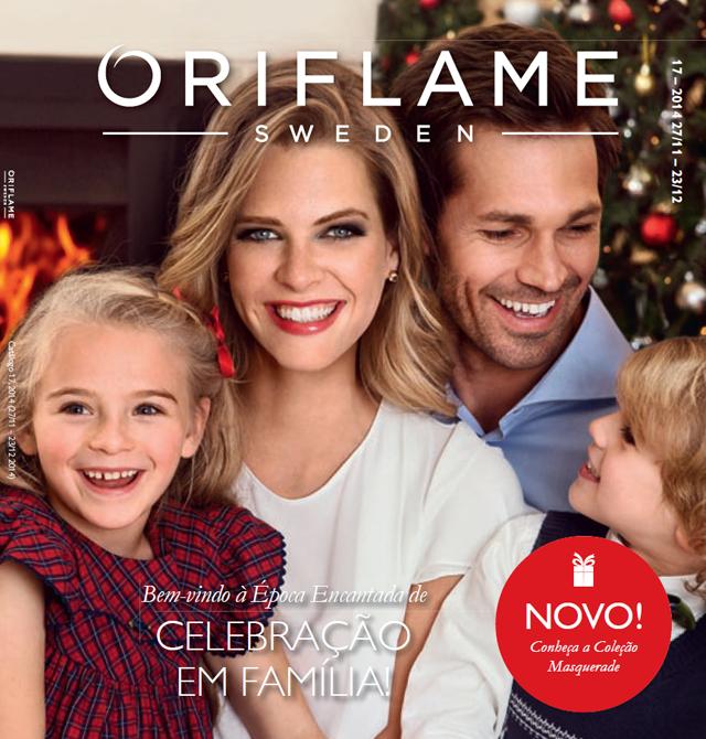 Catálogo 17 de 2014 da Oriflame