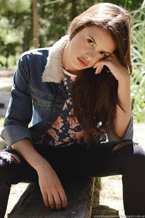 Moda Urbana invierno 2015. Te lo Juro otoño invierno 2015 Camperas de Jeans.