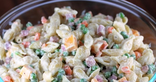 The Bestest Recipes Online Ham Cold Salad