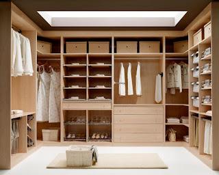 Instalación de armarios a medida y vestidores
