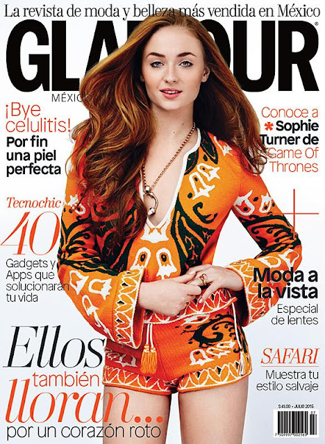 Actress @ Sophie Turner - Glamour Mexico, June 2015
