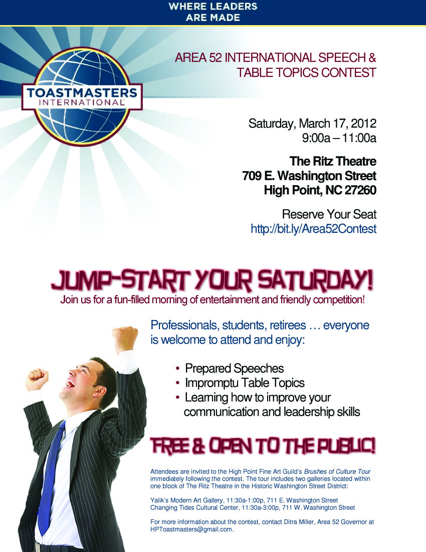 toastmasters district 42 division essay