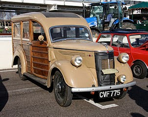 May 3 - 4 Antique Automotive Flea Market Lindsay Kawartha Lakes may hold treasures like this 1930 Ford Woodie Wagon