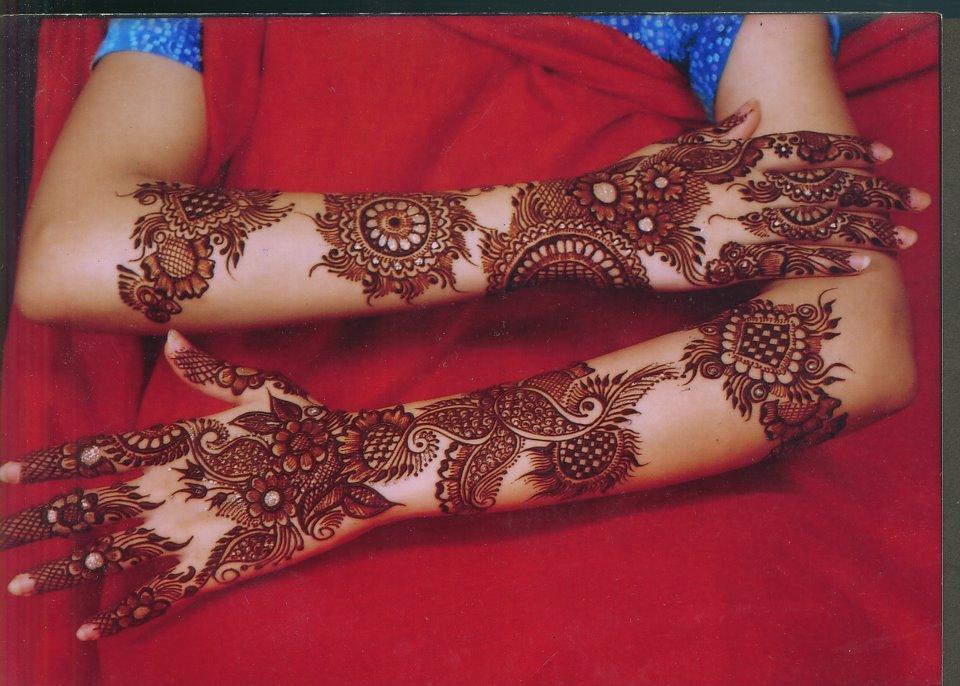 Gorgeous Bridal Mehndi Designs : Mehndi style: gorgeous bridal designs 2011 2012 for hands