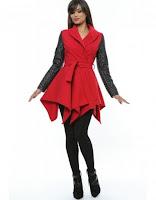 Palton Red Fantasy