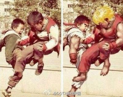Imagen de Ryu y Ken si existen