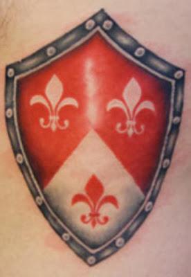 Skjold Scudo Tattoo