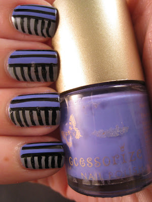 Purple-grey-stripes-nail-art