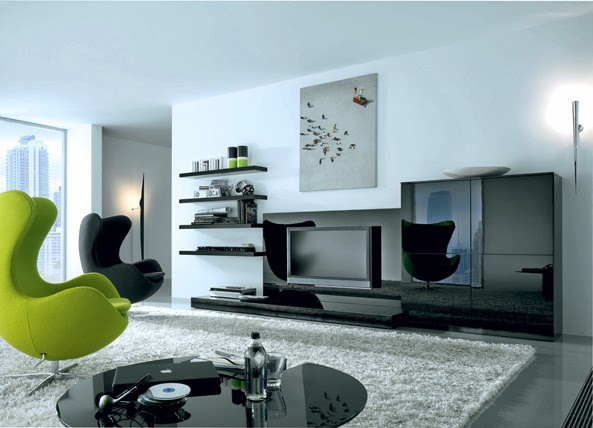 Tv Wall Decoration Living Room 2014 Part 2