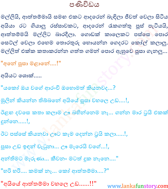 Sinhala Jokes-Message