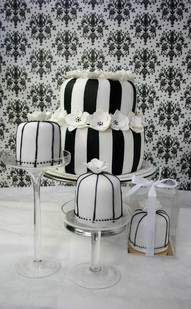 Black And White Cup Cakes Wien
