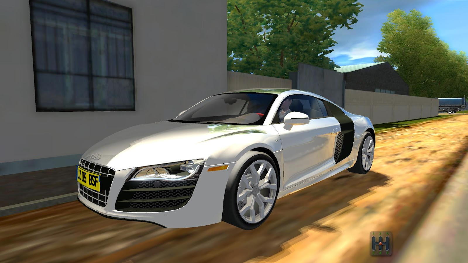 City Car Driving Mods Audi R8 V10 1 2 4