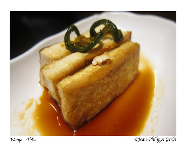 Image of Tofu at Wonjo Korean Restaurant in Koreatown NYC, New York