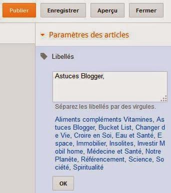 les-libellés-de-blogger