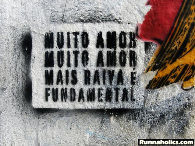 Muito amor, mas raiva é fundamental