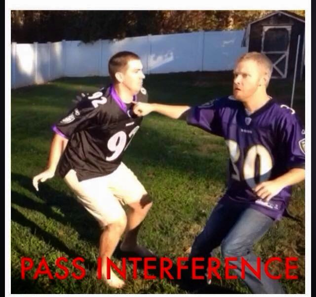 Pass interference