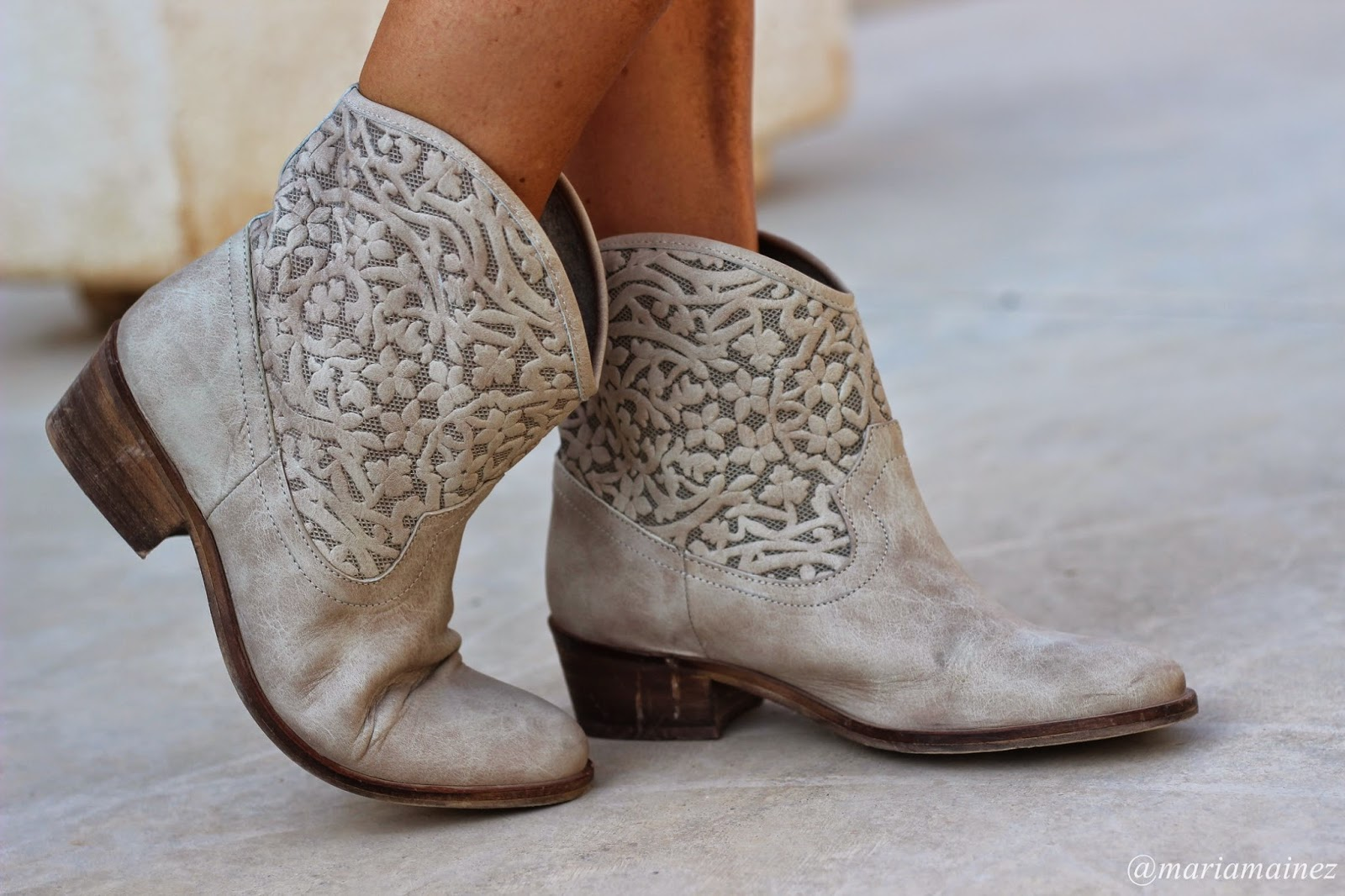 Tendencias Boho Chic - Botas camperas - hippy chic