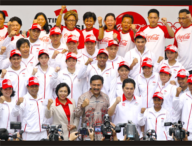 ATLET INDONESIA OLIMPIADE 2012
