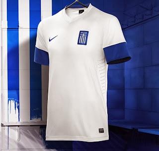 Le maillot de la Grèce de la Coupe du monde 2014