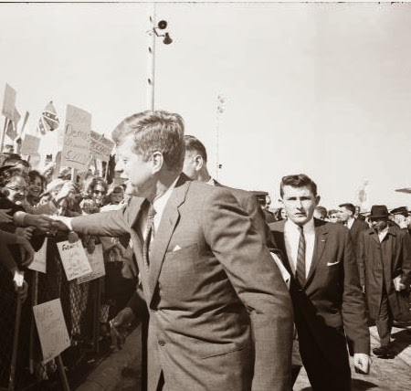 PRS Agent Glen Bennett with JFK 11/22/63
