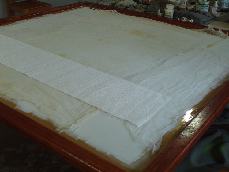 Preparación para imprimación con gasa 2