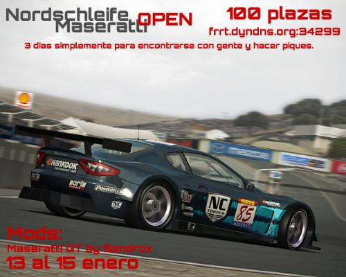 Carreras online maserati weekend