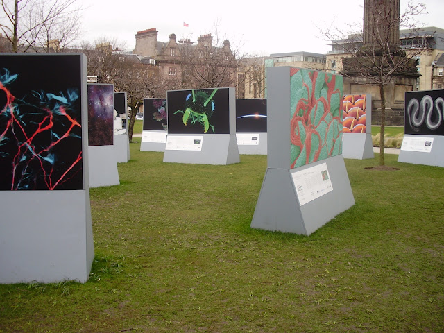 Invisible Words, Edinburgh