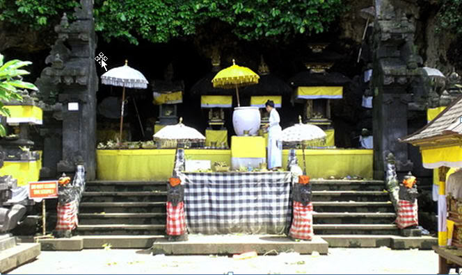 Goa Lawah Temple - Bat Cave