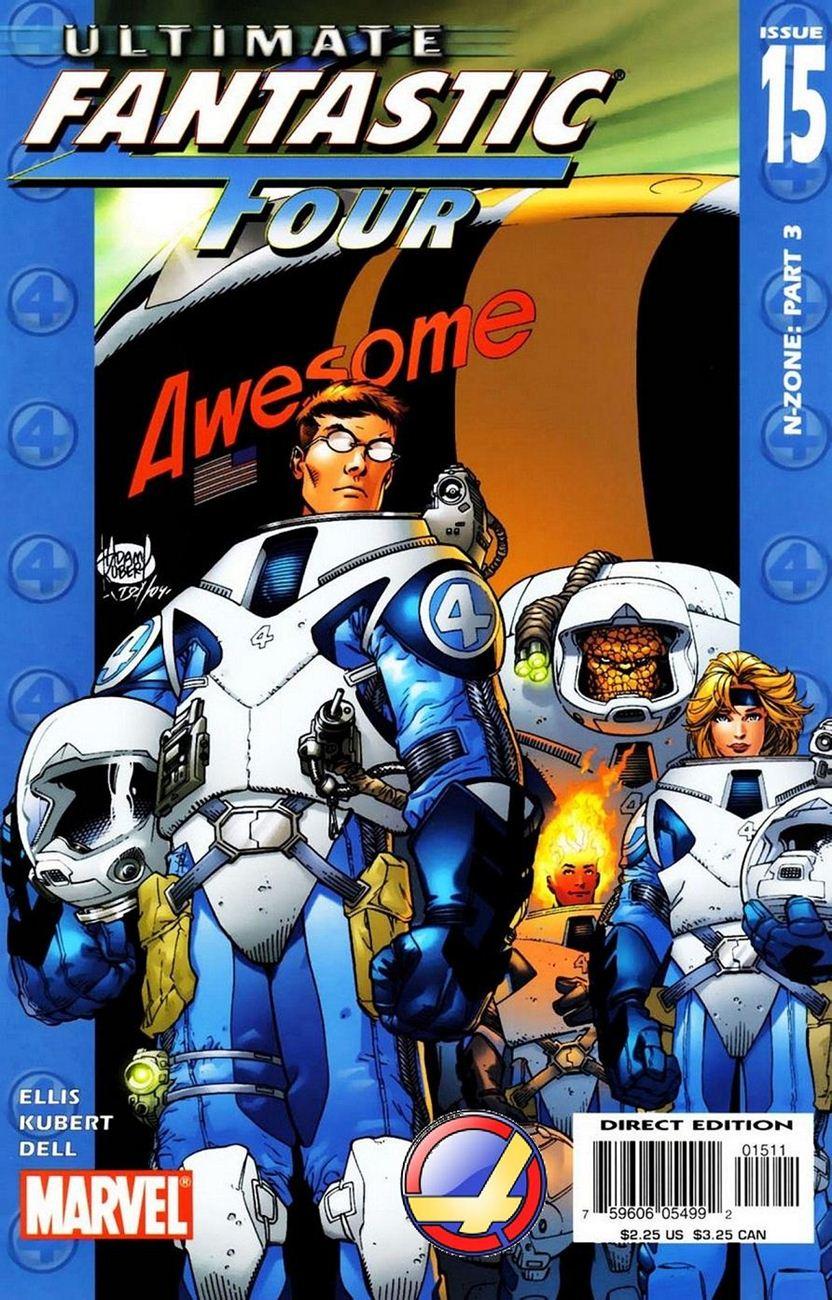 Ultimate Fantastic Four chap 15 - Trang 1