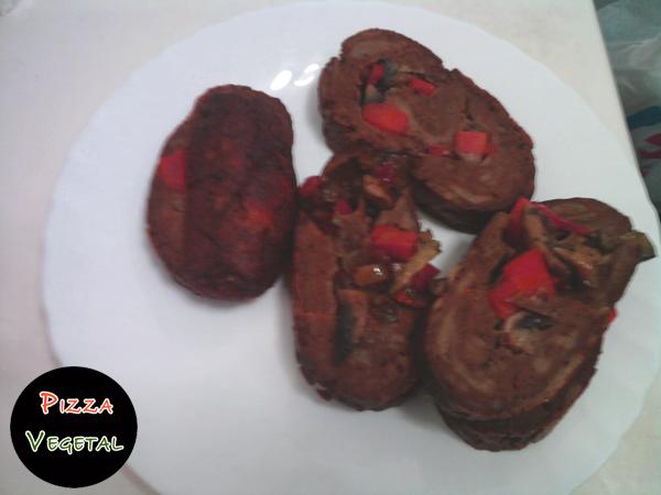 Carne Vegetal rellena