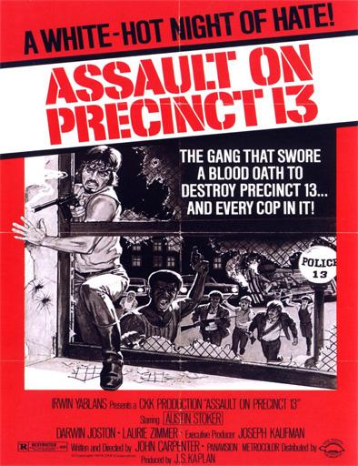 Ver Asalto a la comisaría del distrito 13 (1976) Online