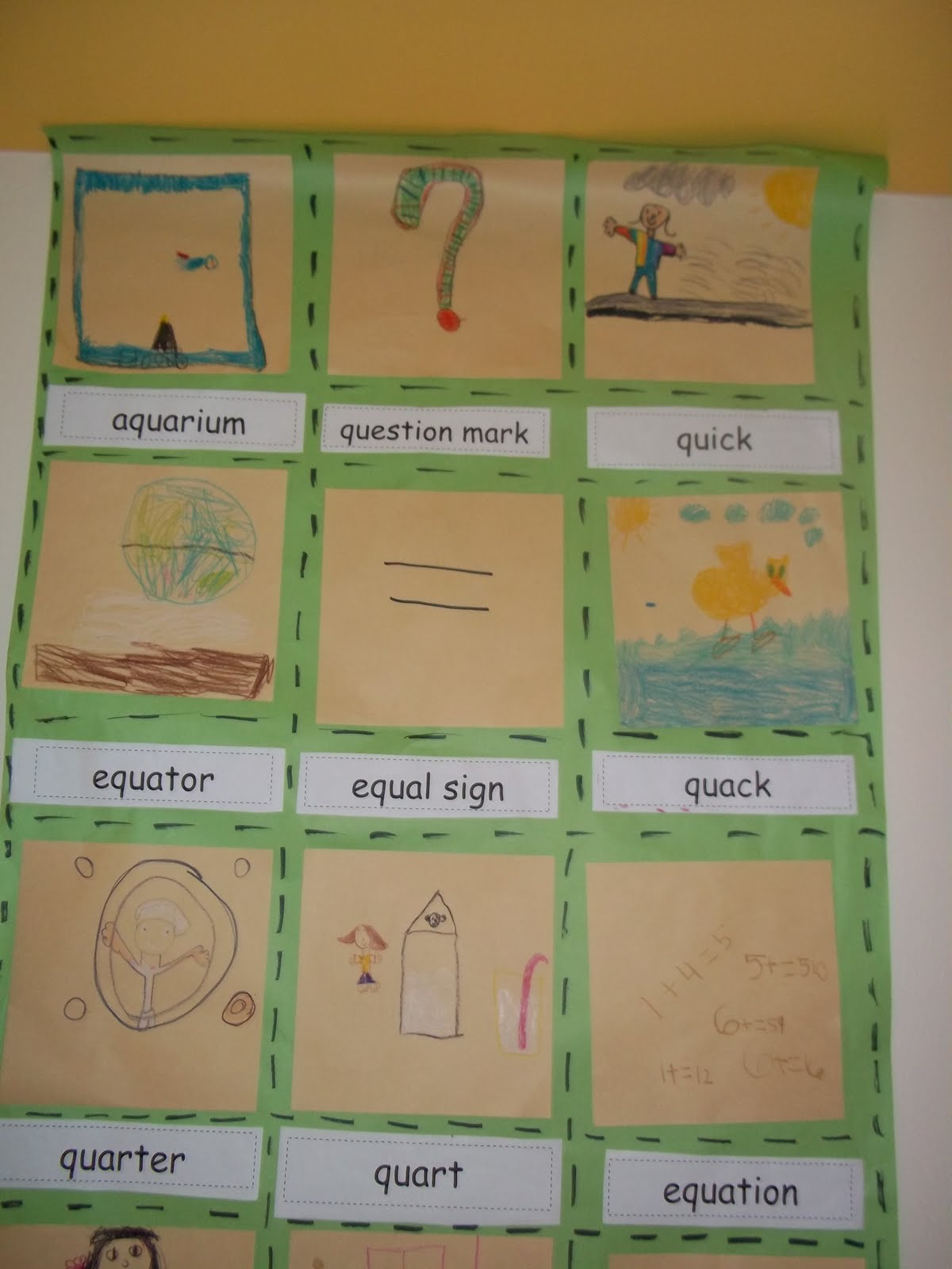 worksheet Qu Words mrs woods kindergarten class q is for quilt we read the and made a with words that had qu in them students learned some new vocabulary illustrated their word to mak