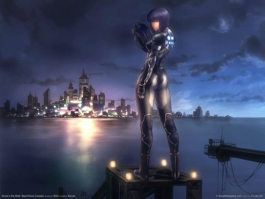 ghost in the shell por hatefulove