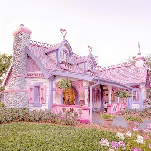 Kaori Likes Things Pink Houses Pink Houses Piiiiiiink