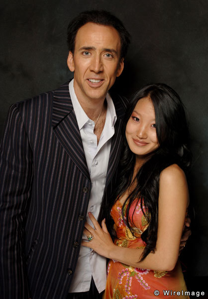 Nicolas Cage and Alice Kim Wife