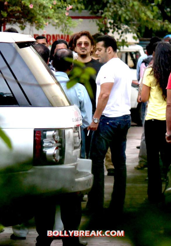 Salman Khan - (9) - Special screening of 'Ek Tha Tiger' at Yashraj Studio