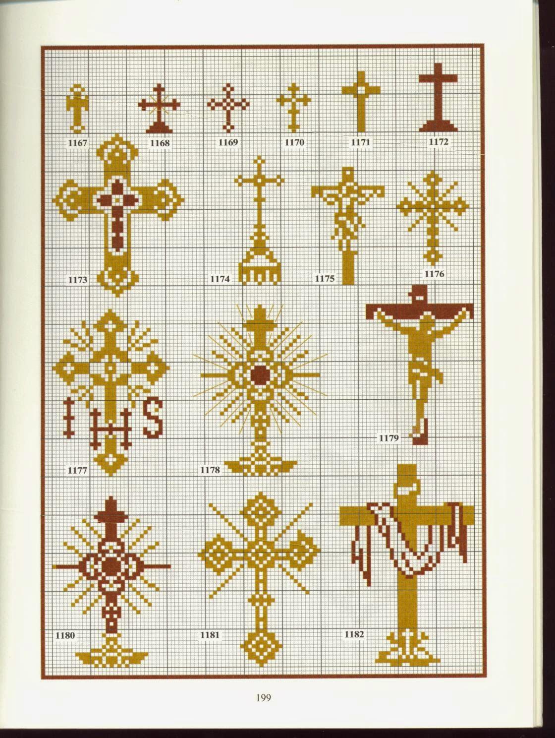 Секреты ровных крестиков Всё 36