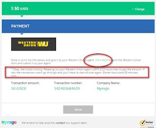 Cara Isi Pulsa Nymgo Melalui Western Union