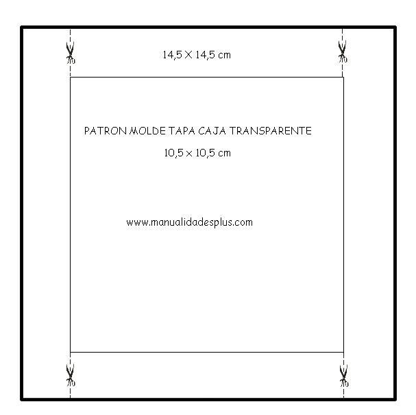Elabora una caja transparente para peluches   Mundo Manualidades