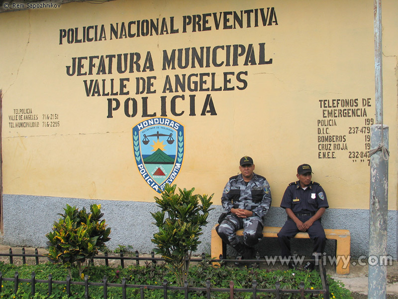 Tolerancia real honduras polic a y corrupci n for Nombre del ministro de interior y policia