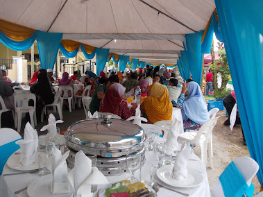 MAJLIS KENDURI KAHWIN
