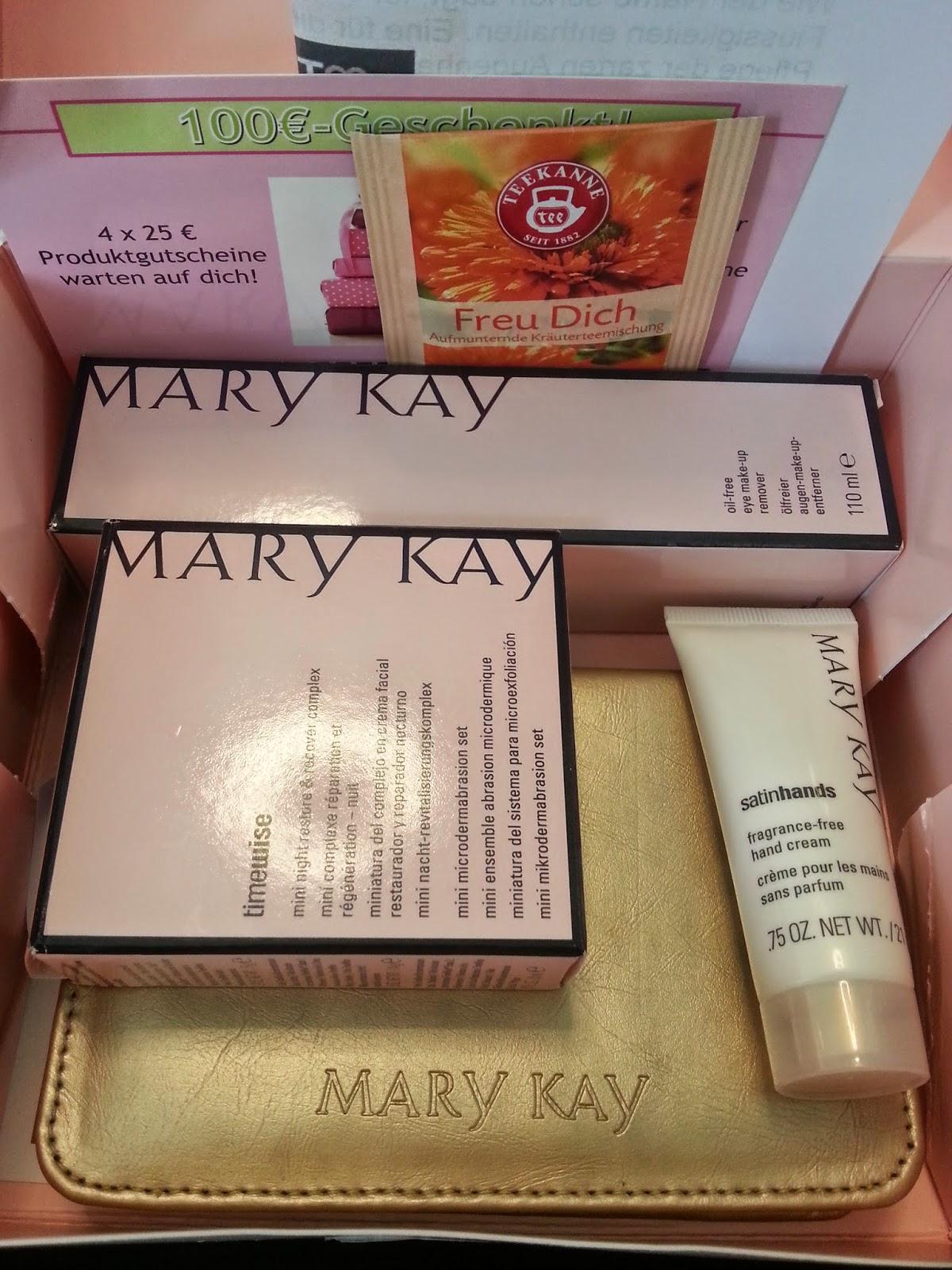 Mary Kay - Augen Makeup Entferner und noch viel mehr - www.annitschkasblog.de