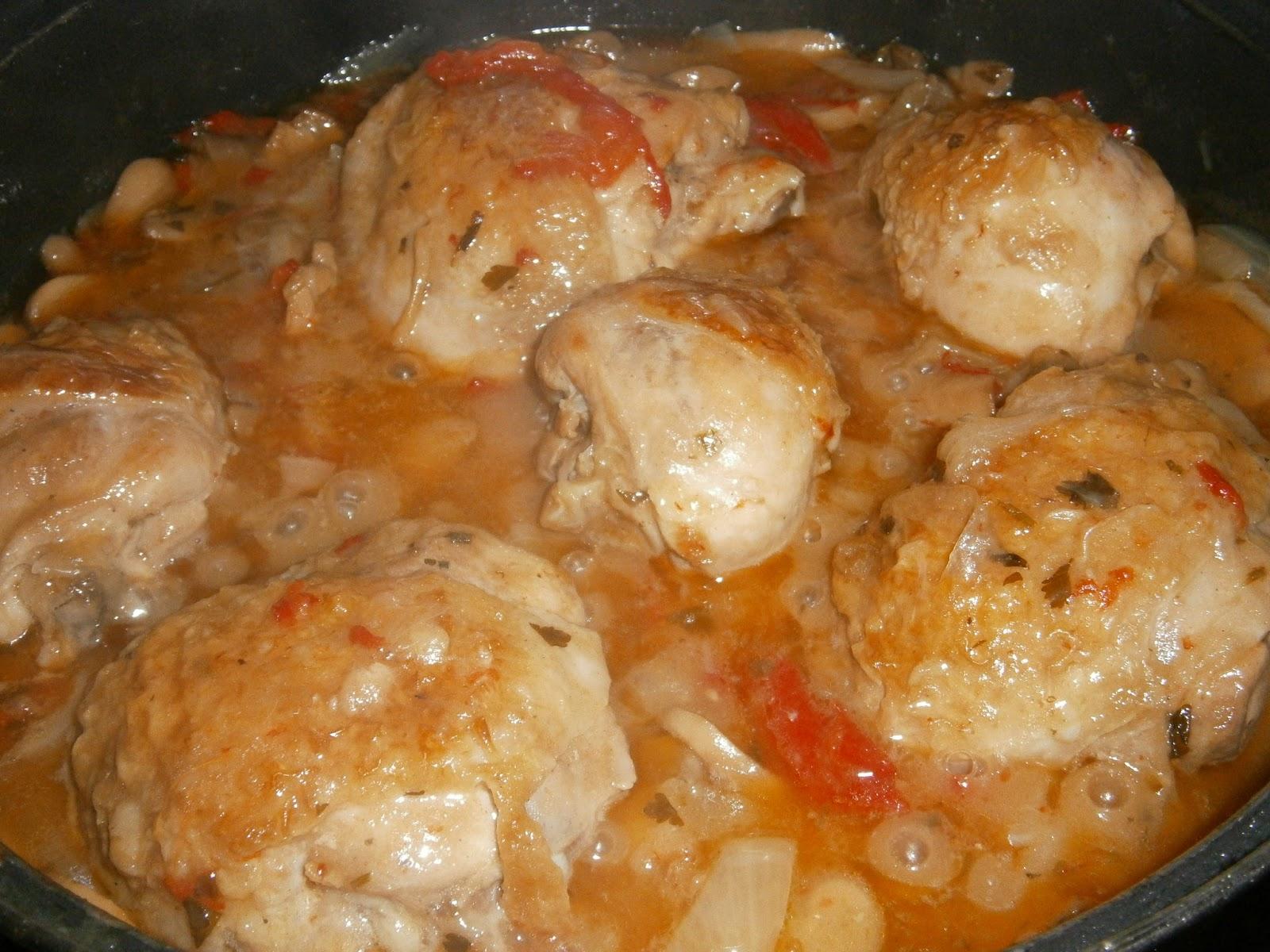 Pollo guisado a la cerveza muslos de pollo a la cerveza - Como se hace pollo en salsa ...