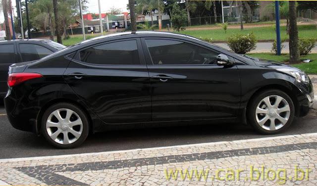 Hyundai Elantra 2012 GLS 1.8L Automático - preto - preço