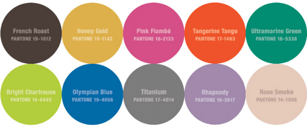 2012 fall color trends and how to use them in your home for What is a color that makes you happy
