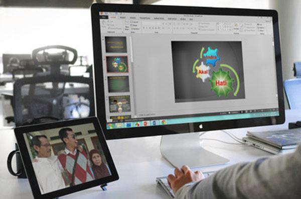 Cara menambah video di PowerPoint